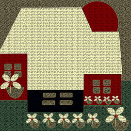 Little House Painting 13 by Miss Pet Sitter
