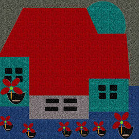 Little House Painting 35 by Miss Pet Sitter