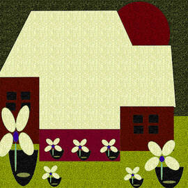 Little House Painting 49 by Miss Pet Sitter