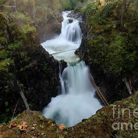 Little Qualicum Falls 2 by Bob Christopher