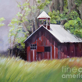 Little Red Schoolhouse - Lyndhurst Plantation - Florida by Jan Dappen