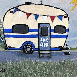 Live Life Camping by Suzanne Theis