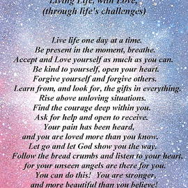 Living Life, with Love, through life's challenges by Jana Parkes