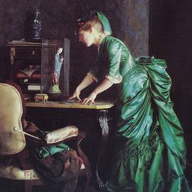 Lizzy Young In Green by Reynold Jay