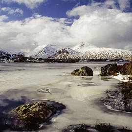 Lochan Na H-achlaise And Black Mount, Scotland by Peter OReilly