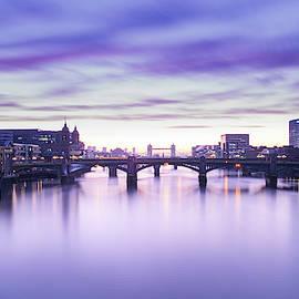 London In Lavender by Wing Li