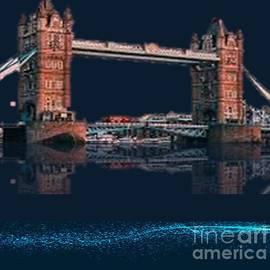 London Tower Bridge by Belinda Threeths