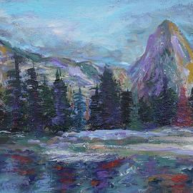 Lone Eagle Peak reflected in Mirror Lake, Indian Peaks Wilderness by Chris Rutledge