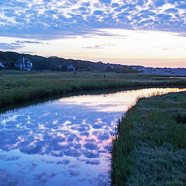 Long Beach River Reflection Rockport Ma by Toby McGuire