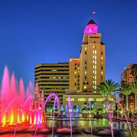 Long Beach's historic Breakers hotel by David Zanzinger