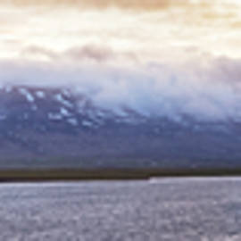 Long Icelandic Panorama by Debra and Dave Vanderlaan