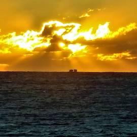 Long Island Sound Sunrise by Rob Hans