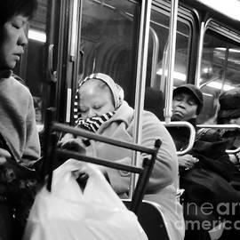 Miriam Danar - The Night Bus - People of New York City