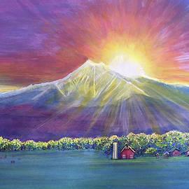 Longs Peak Colorado by David Sockrider