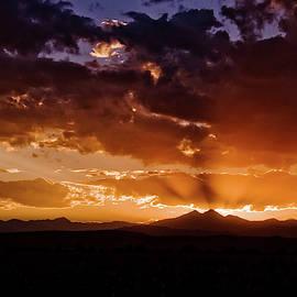 Longs Peak Sunset by Chance Kafka