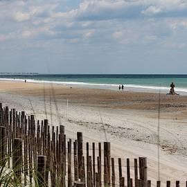 Looking Down On The Beach by Cynthia Guinn