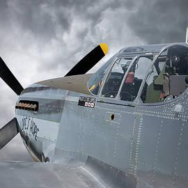 Lope's Hope 3rd P-51C Mustang by Adam Romanowicz
