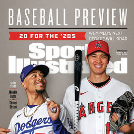 Los Angeles Dodgers Mookie Betts And Los Angeles Angels Sports Illustrated Cover
