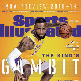 Los Angeles Lakers LeBron James, 2018-19 Nba Basketball Sports Illustrated Cover