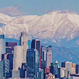 Lynn Bauer - Los Angeles Snow Panorama