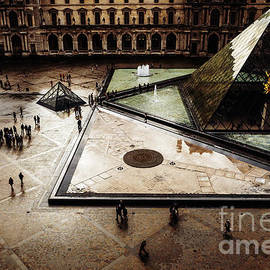 Louvre by Miles Whittingham