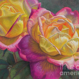 Love and Peace Roses by Fiona Craig