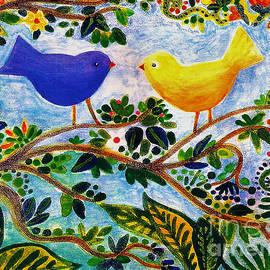 Love Birds by A Hillman