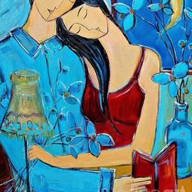 Love in Blue by Amalia Suruceanu