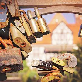 Love Lock Bridge Gdansk Poland  by Carol Japp