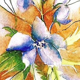 Lovely Larkspur by Mindy Newman