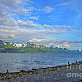 Low Tide On Resurrection Bay by Robert Bales