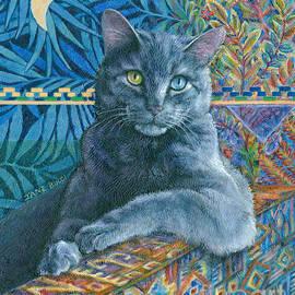 Luna Blue Cat by Jane Bucci