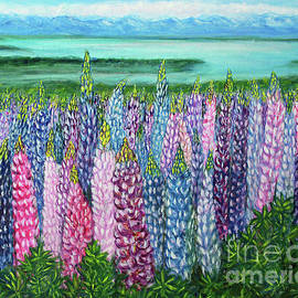 Lupine Impressions by Lyric Lucas