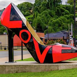 Lynchburg Love Shoe by Norma Brandsberg