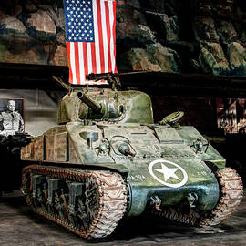 M4 Sherman Old Glory by Weston Westmoreland