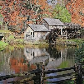 Mabry Mill On The Blue Ridge Parkway by Ronald Lutz
