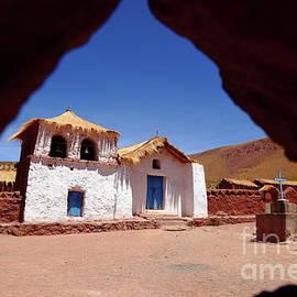 Machuca Church San Pedro De Atacama Chile by James Brunker