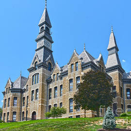 Mackay Hall, Side View by Catherine Sherman