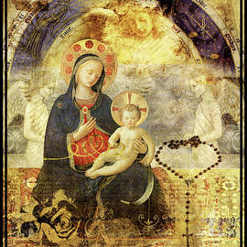 Madonna And Child by Diana Haronis