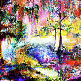 Magic Of The Wetland Okefenokee Georgia by Ginette Callaway