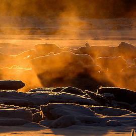 Magic Sea Smoke by Dianne Cowen Photography