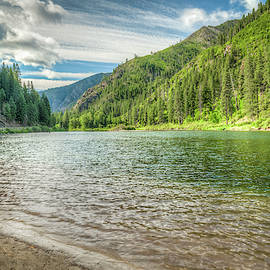 Magnificent Wenatchee River View by Spencer McDonald