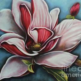 Magnolia Blue by Bruna CHRISTIAN