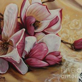 Magnolias and Lace by Bruna CHRISTIAN