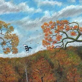 Magpie Woods by Philip Harvey