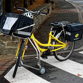Mail Delivery Bicycle by Sally Weigand