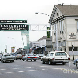 Main Street Castroville, California 1991 by California Views Archives Mr Pat Hathaway Archives