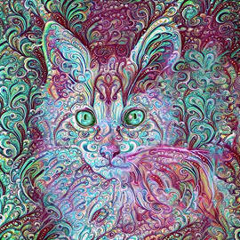 Maine Coon Kitten Paisley Deluxe by Peggy Collins