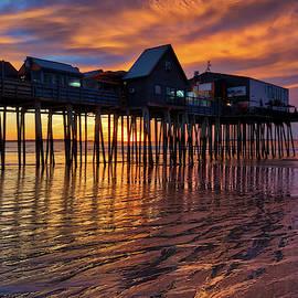 Juergen Roth - Maine Old Orchard Beach Pier