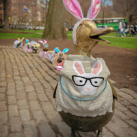 Make Way For Ducklings - Easter Parade by Joann Vitali